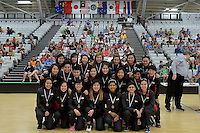 Singapore Team, World Floorball Championships 2017 Qualification for Asia Oceania Region at ASB Sports Centre , Wellington, New Zealand on Sunday 5 February 2017.<br />