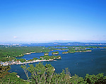 June 01, 1996: File photo showing Matsushima, Miyagi Prefecture, Japan taken in June 01, 1996. Matsushima was renowned for its natural beauty but  devasted by the massive magnitude 9.0 earthquake and subsequent tsunami that struck the eastern coast of Japan on Fraiday 11th March, 2011...