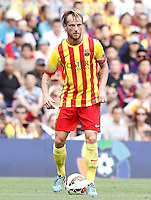 FC Barcellona's Ivan Rakitic during La Liga match.September 13,2014. (ALTERPHOTOS/Acero) <br /> Football Calcio 2014/2015<br /> La Liga Spagna<br /> Foto Alterphotos / Insidefoto