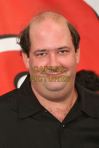 "BRIAN BAUMGARTNER.""Evan Almighty"" Los Angeles Premiere at Universal City Walk, Universal City, California, USA..June 10th, 2007.headshot portrait double chin .CAP/ADM/BP.©Byron Purvis/AdMedia/Capital Pictures"
