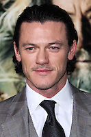 "HOLLYWOOD, CA - DECEMBER 02: Luke Evans arriving at the Los Angeles Premiere Of Warner Bros' ""The Hobbit: The Desolation Of Smaug"" held at Dolby Theatre on December 2, 2013 in Hollywood, California. (Photo by Xavier Collin/Celebrity Monitor)"