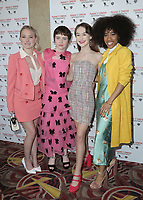 10 March 2019 - Los Angeles, California - Laura Slade Wiggins, Sophia Lillis, Katt Shea, Mackenzie Graham, Zoe Renee. World Premiere of 'Nancy Drew and the Hidden Staircase' held at AMC Century City 15. Photo Credit: PMA/AdMedia