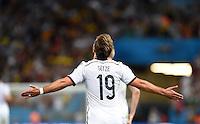 FUSSBALL WM 2014                       FINALE   Deutschland - Argentinien     13.07.2014 DEUTSCHLAND FEIERT DEN WM TITEL: Mario Goetze