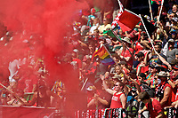 Portland, OR - Saturday September 02, 2017: Thorns supporters during a regular season National Women's Soccer League (NWSL) match between the Portland Thorns FC and the Washington Spirit at Providence Park.