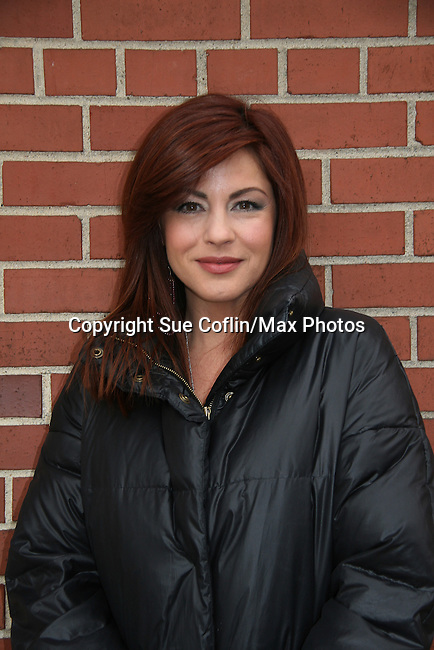 Julie Pinson - outside the As The World Turns Studios on February 5, 2010 in Brooklyn, New York. (Photo by Sue Coflin/Max Photos)