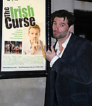 at the Opening Night of the off-Broadway play The Irish Curse on March 28, 2010 at the Soho Playhouse, New York City, New York. (Photo by Sue Coflin/Max Photos)