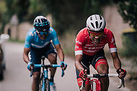Jarlinson Pantano (COL/Trek-Segafredo)<br /> <br /> 76th Paris-Nice 2018<br /> stage 6: Sisteron &gt; Vence (198km)