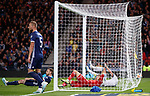 06.09.2019 Scotland v Russia, European Championship 2020 qualifying round, Hampden Park:<br /> Stephen O'Donnell dejection as he scores an own goal