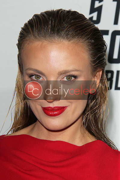 """Bar Paly<br /> at the """"Star Trek Into Darkness"""" Blu-Ray and DVD Release Party, California Science Center, Los Angeles, CA 09-10-13<br /> David Edwards/Dailyceleb.com 818-249-4998"""