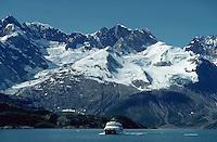 Excursion boat on Glacier Bay, Alaska