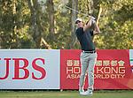Jason Scrivener of Australia tees off during the 58th UBS Hong Kong Open as part of the European Tour on 08 December 2016, at the Hong Kong Golf Club, Fanling, Hong Kong, China. Photo by Vivek Prakash / Power Sport Images