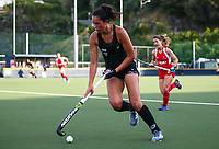Kaitlin Cotter. International Hockey Warmup game, Blacksticks women v Chile.Auckland Grammar Hockey Turf, Auckland, New Zealand. Thursday 13 December 2018. Photo: Simon Watts/Hockey NZ