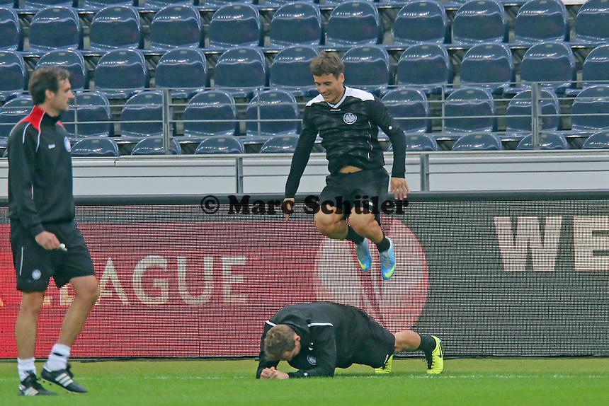 Vaclav Kadlec (Eintracht) - Eintracht Europa League Training