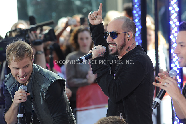 WWW.ACEPIXS.COM . . . . . .June 3, 2011...New York City....Brian Littrell and AJ McLean perform on NBC's 'Today' at Rockefeller Center on June 3, 2011 in New York City.....Please byline: KRISTIN CALLAHAN - ACEPIXS.COM.. . . . . . ..Ace Pictures, Inc: ..tel: (212) 243 8787 or (646) 769 0430..e-mail: info@acepixs.com..web: http://www.acepixs.com .
