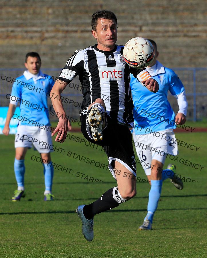 Fudbal Jelen Super League season 2015-2016<br /> Spartak v Partizan<br /> Sasa Ilic<br /> Subotica, 29.11.2015.<br /> foto: Srdjan Stevanovic/Starsportphoto&copy;