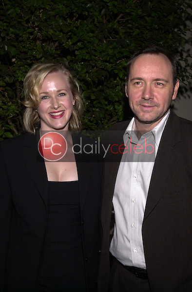 Kevin Spacey and Katie Finneran