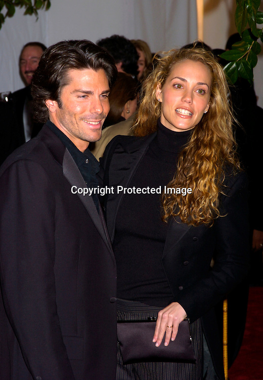 Greg Lauren and Elizabeth Berkley..at the Grand opening of the Time Warner Center in New York City on February 4, 2004. Photo by Robin Platzer, Twin Images