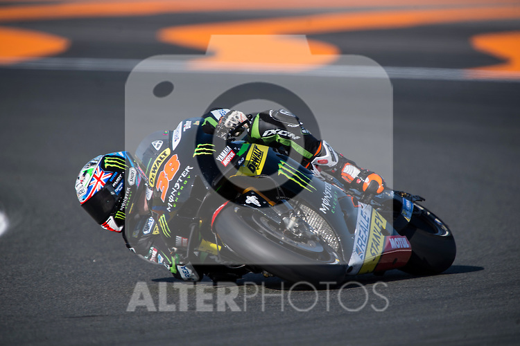 VALENCIA, SPAIN - NOVEMBER 11: Bradley Smith during Valencia MotoGP 2016 at Ricardo Tormo Circuit on November 11, 2016 in Valencia, Spain