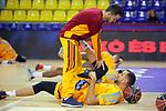 League ACB-ENDESA 2017/2018 - Game: 12.<br /> FC Barcelona Lassa vs Herbalife Gran Canaria: 77-88.<br /> Pablo Aguilar.