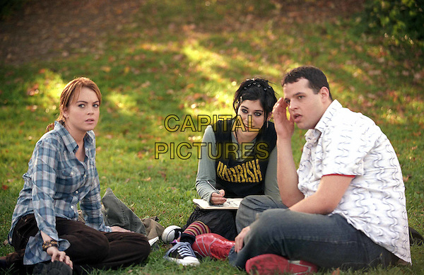 LINDSAY LOHAN, LIZZY CAPLAN & DANIEL FRANZESE.in Mean Girls.Filmstill - Editorial Use Only.CAP/AWFF.supplied by Capital Pictures