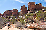 Canyonlands National Park, Utah, Backpacking, Chesler Park Trail, Elephant Canyon, the Needles District, Scott McCredie, Gary Parker, Southwest, United States, USA,