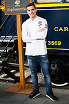 Chef Miguel Cobo during the presentation of Exploratorium of San Miguel Selecta at Museo del Ferrocarril in Madrid. March 22, 2017. (ALTERPHOTOS/Borja B.Hojas)