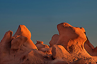 751000023 hoodoo formations in the high desert of goblin valley state park utah united states