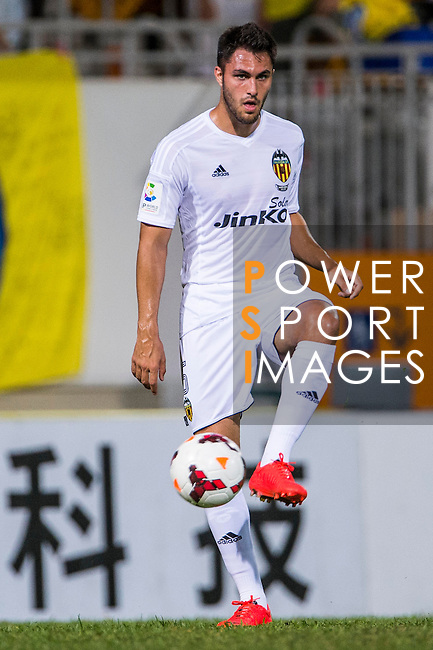 Víctor Ruiz of Valencia CF in action during LFP World Challenge 2014 between Valencia CF vs BC Rangers FC on May 28, 2014 at the Mongkok Stadium in Hong Kong, China. Photo by Victor Fraile / Power Sport Images