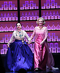 Douglas Sills, Patti Lupone, Christine Ebersole and John Dossett during the Broadway opening night performance curtain call for 'War Paint' at the Nederlander Theatre on April 6, 2017 in New York City