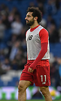 \Liverpool's Mohamed Salah during the prematch warmup<br /> <br /> <br /> Photographer David Horton/CameraSport<br /> <br /> The Premier League - Brighton and Hove Albion v Liverpool - Saturday 12th January 2019 - The Amex Stadium - Brighton<br /> <br /> World Copyright © 2018 CameraSport. All rights reserved. 43 Linden Ave. Countesthorpe. Leicester. England. LE8 5PG - Tel: +44 (0) 116 277 4147 - admin@camerasport.com - www.camerasport.com