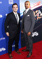 "HOLLYWOOD, LOS ANGELES, CA, USA - AUGUST 07: Jake Johnson, Damon Wayans Jr. at the Los Angeles Premiere Of 20th Century Fox's ""Let's Be Cops"" held at ArcLight Cinemas Cinerama Dome on August 7, 2014 in Hollywood, Los Angeles, California, United States. (Photo by Xavier Collin/Celebrity Monitor)"