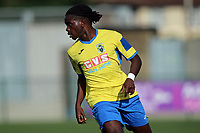 Romoluwa Akinola of Haringey during Haringey Borough vs Herne Bay, Emirates FA Cup Football at Coles Park Stadium on 7th September 2019