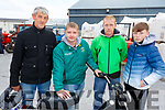 Attending the Gerald Lynch Memorial Vintage Run in the Hopper Inn in Causeway on Sunday.<br /> L-r, Pat Carroll, Anthony Lynch, Earl and Anthony Kavanagh.