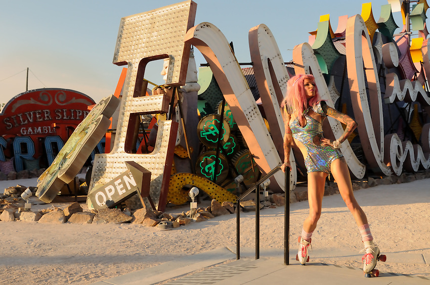 Gregory Holmgren Photography, Neon Museum, Las Vegas, Nevada, July 17, 2013