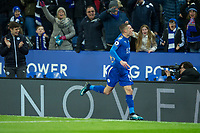 during the Premier League match between Leicester City and Tottenham Hotspur at the King Power Stadium, Leicester, England on 28 November 2017. Photo by James Williamson / PRiME Media Images.