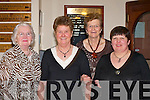 Having a ball at the Glenflesk ladies GAA 25th anniversary celebrtions in Darby O'Gills Killarney on Friday night were l-r: Mary Murphy, Maureen Doherty, Eileen Doherty and Marian Favier.   Copyright Kerry's Eye 2008