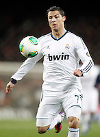 Real Madrid's Cristiano Ronaldo during Copa del Rey - King's Cup semifinal second match.February 26,2013. (ALTERPHOTOS/Acero) /Nortephoto