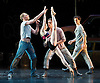 The Royal Ballet <br /> Triple Bill<br /> with Choreography by Kenneth MacMillan <br /> at The Royal Opera House, Covent Garden, London, Great Britain <br /> general rehearsal <br /> 23rd March 2010 <br /> <br /> The Judas Tree<br /> Bennet Gartside (as The Foreman)<br /> Mara Galeazzi (as The Woman)<br /> Johannes Stepanek (friend)<br /> Sergei Polunin&nbsp;<br /> <br /> Photograph by Elliott Franks