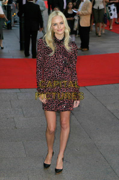 "KATE BOSWORTH.""Superman Returns"" UK film premiere, Odeon Leicester Square, London, UK..July 13th, 2006.Ref: AH.full length dress black jewel encrusted black pink red sequins sequined sequin dress .www.capitalpictures.com.sales@capitalpictures.com.© Capital Pictures."
