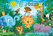 Sarah, CUTE ANIMALS, LUSTIGE TIERE, ANIMALITOS DIVERTIDOS, paintings+++++Jungle-16-A,USSB461,#AC#, EVERYDAY