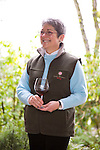 Susan Sokol Blossor at the Sokol Blossor winery in Dundee, Oregon
