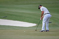 Jon Rahm (ESP) barely misses his bogey putt on 11 during round 3 of The Players Championship, TPC Sawgrass, at Ponte Vedra, Florida, USA. 5/12/2018.<br /> Picture: Golffile | Ken Murray<br /> <br /> <br /> All photo usage must carry mandatory copyright credit (&copy; Golffile | Ken Murray)