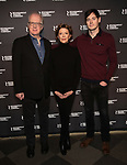 Tracy Letts, Annette Bening and Benjamin Walker attends the 'All My Sons' cast photo call at the American Airlines Theatre  on March 8, 2019 in New York City.