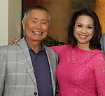 Lunch with Allegiance's Lea Salonga & George Takei 6/25/15