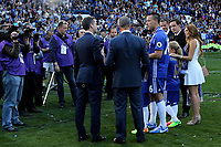 Chelsea's John Terry and his family are interviewed by Sky Sports after the match during Chelsea vs Sunderland AFC, Premier League Football at Stamford Bridge on 21st May 2017