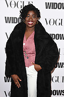 "Clara Amfo<br /> arriving for the ""Widows"" special screening in association with Vogue at the Tate Modern, London<br /> <br /> ©Ash Knotek  D3457  31/10/2018"