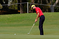 Michael Sim (AUS) on the 1st green during round 3 of the Australian PGA Championship at  RACV Royal Pines Resort, Gold Coast, Queensland, Australia. 21/12/2019.<br /> Picture TJ Caffrey / Golffile.ie<br /> <br /> All photo usage must carry mandatory copyright credit (© Golffile | TJ Caffrey)