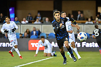 San Jose, CA - Saturday March 24, 2018: Chris Wondolowski during an international friendly between the San Jose Earthquakes and Club Leon FC at Avaya Stadium.