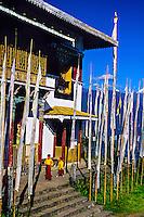 Pemayangtse Monastery (Red Hat Ningma Buddhism sect), West Sikkim, India