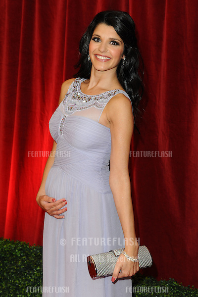 Natalie Anderson arriving for the British Soap Awards 2012 at London TV Centre, South Bank, London..28/04/2012 Picture by: Steve Vas / Featureflash